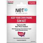 25 Gift Card Promotion Net10 Keep Your Own Phone 3 in 1 Prepaid SIM Kit
