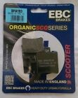 MBK YN50 Ovetto (1998 to 2010) EBC Organic FRONT Disc Brake Pads (SFA193) 1 Set