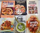 Weight Watchers Cookbook Lot of 6 Fast Family Shortcut Holiday 365 Menu low carb