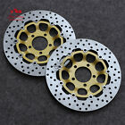 Floating Front Brake Disc Rotor Fit For Suzuki RGV250 RF400 GK78A RF600 SV650 S