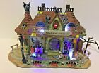 2008 Lemax SPOOKY TOWN Phantom Station HALLOWEEN VILLAGE Lights