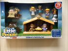 Little People Childrens Nativity Set Fisher Price 11 Figures NEW Manger