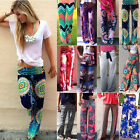 Women Harem Pants Hippie Wide Leg Gypsy Yoga Gym Dance Boho Palazzo Trousers