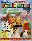 Mary Beth's Beanie World Monthly (Ty Beanies) #6 Vol 1/6 August 1998 New