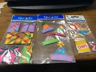 Birthday Party Scrapbooking Stickers Pizza Hats Presents Potato Chips Cheese Doo