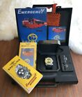 Breitling Emergency Watch with Deployment Strap - E76321. Extra straps included.