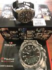 Tissot T Touch 2 Expert Titanium Carbon Fiber T047.420.47.207.00 Wrist Watch Men