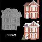 Houses Metal Cutting Dies DIY Scrapbooking Album Photo Craft Paper Card Decor