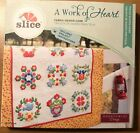 Slice Fabric Design Card A Work of Heart New