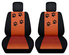 Vw Beetle Front Car Seat Covers Blackburnt Orange Wdaisyladybugbutterfly...