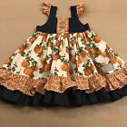 Eleanor Rose Boutique Size 3 4 Pumpkin Patch Meredith Dress Thanksgiving