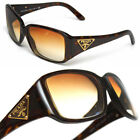 430 PRADA Triangle Logo DARK TORTOISE GLASSES
