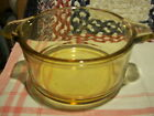 Vintage ~ Pyr-O-Rey Dynaware ~ 2 Individual Casserole Dishes ~ Amber ~ Mexico