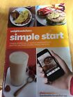 Weight Watchers SIMPLE START PROGRAM BOOK Say NO to Points Apps Track used
