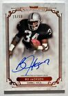 2013 Topps Museum Collection BO JACKSON Auto Copper Parallel Royals Raiders # 50