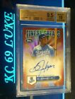 2014**TOPPS FINEST**BO JACKSON**FINEST GREATS**RED REFR AUTO 25**BGS 9.5 10**