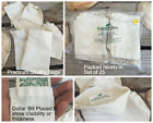 4x6 Inches Cloth Muslin Drawstring Bags Art Craft Bags Sale Qty 25 50 100