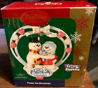 Vintage Carlton Cards Frosty the Snowman  Christmas  Ornament