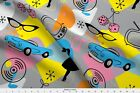 1950s Rockabilly Sock Hop Retro Neato Fabric Fabric Printed By Spoonflower Bty