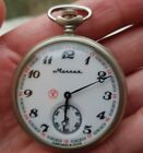 Molnija pocket watch,montre gousset ,Taschenuhr