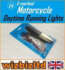 Motorcycle (E-Marked) Day Time Running Light Hyosung GA 125 F 4V 1997 DRL