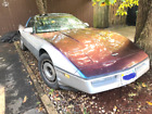 1985 Chevrolet Corvette 2dr Hatchback Coupe 1985 Chevrolet Silver Corvette 57 good condition only small cosmetic