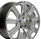 20 Rims Fit Land Rover Range Rover Stormer Hyper Silver Wheels 72200