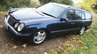 Mercedes E430 Estate Avantgarde V8 Auto LHD Uk reg Left hand drive
