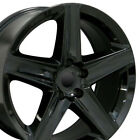 20 Rims Fit Jeep Grand Cherokee SRT8 Gloss Black Wheels 9082