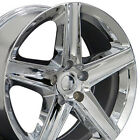 20 Rims Fit Jeep Grand Cherokee SRT8 Chrome Wheels 9082