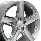 20 Rims Fit Jeep Grand Cherokee SRT8 Polished Wheels 9082