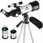 Gskyer Telescope AZ70400 German Technology Astronomy Telescope Travel Refract