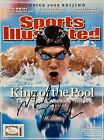 Michael Phelps Signed ( August 18th 2008 ) Sports Illustrated SI Magazine JSA