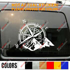 4x4 Off Road Decal Sticker Mountain Compass Car Vinyl Fit For Jeep Ford Chevy