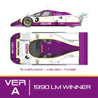 Model Factory Hiro K595 1:12 Jaguar XJR-12 1990 LM ver.A #1#2#3