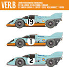Model Factory Hiro K610 1:12 Porsche 917K 1971 ver.B Fulldetail Kit