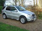Mercedes Benz M Class 27 ML270 CDI 5dr DIESEL AUTOMATIC 2002 7 Seats