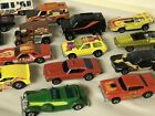 VINTAGE LOT OF 19 MATTEL HOT WHEELS RED LINE BLACK WALL REAL RIDERS DIECAST
