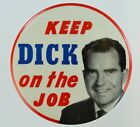 KEEP DICK ON THE JOB 3 1/2 INCH BUTTON BOX 6
