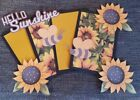Hello Sunshine scrapbook page set photo mat and printed die cuts 228