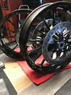 Harley OEM Touring Twin Cam Milwaukee 8 Gloss Black Talon Front Wheel 08 Later