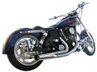 Harley Dyna Super Glide Wide Low Rider 2 into 1 Exhaust PRICE REDUCED M131410S
