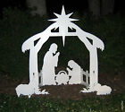 Christmas Outdoor Nativity Scene Holy Family Yard Decoration 50 Tall Lawn Decor