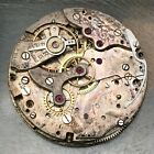 Brevet chronograph 17 jewels watch movement parts