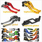 7 Style Levers For HUSQVARNA SMS 630 ie 2011 2012 Clutch Brake Adjustable CNC