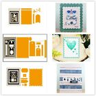 Label Tag Note Frame Metal Cutting Dies Stencil Handcrafts Scrapbook Embossing