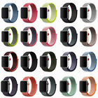 38/42mm 40/44mm Replacement Nylon Sport Loop iWatch Band Strap For Apple Watch 4