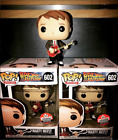 Funko Pop Marty McFly w Guitar Fan Expo Exclusive Back To The Future