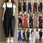 Women Summer Jumpsuit Long Playsuit Casual Clubwear Overall Bib Trousers Pants