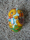 Easter Candy Container Egg Vintage Paper Mache Ducks